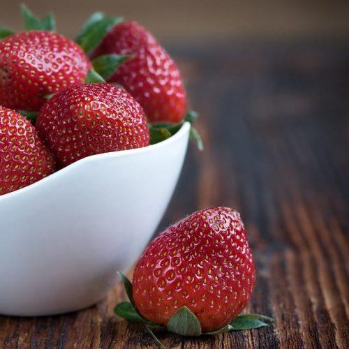 Romantic strawberries