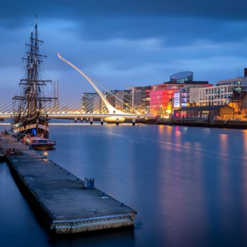 Dublin Attraction - River Liffey