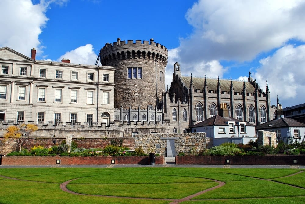CASTLES OF DUBLIN - Dublin Castle in Dublin, Ireland