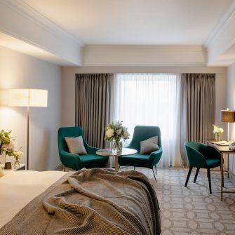 Davenport Hotel bedroom