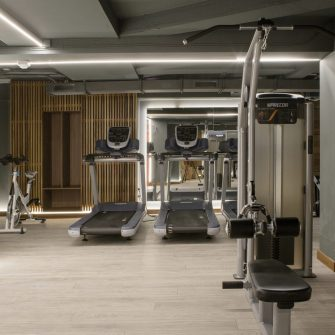 Treadmills at the Davenport Hotel Gym