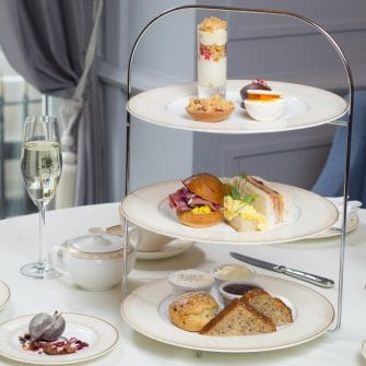 Summer Afternoon tea at The Davenport