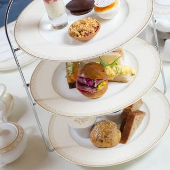 Summer Afternoon tea at The Davenport hotel